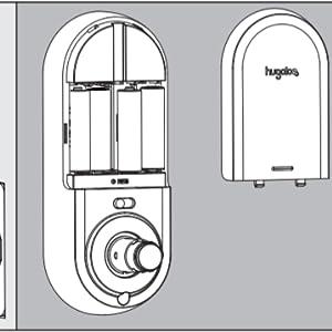 keypad deadbolt with handle