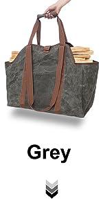 Firewood Carrier Grey