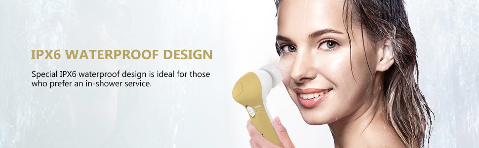 facial cleansing brush for men