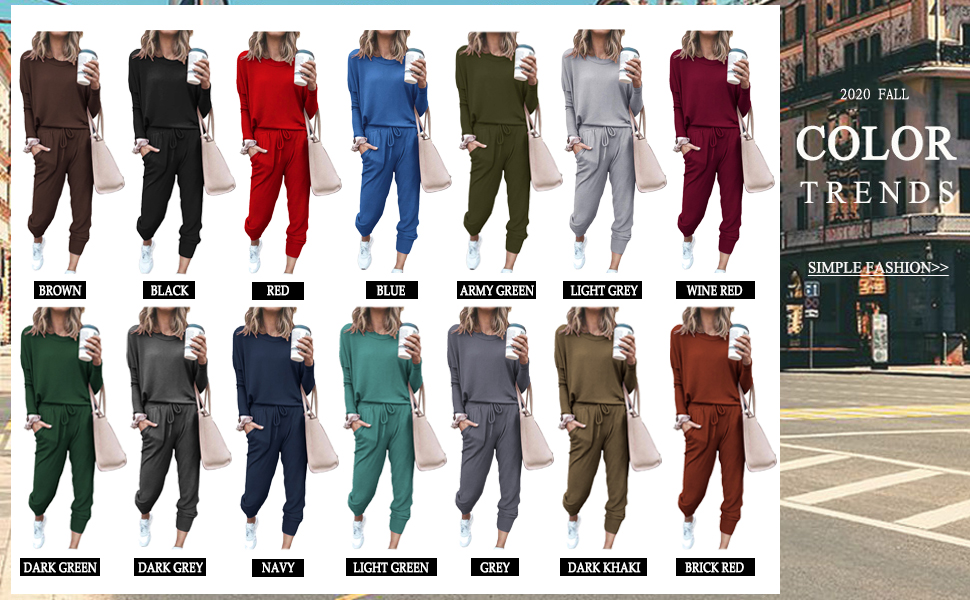 Two Piece Tracksuits Outfit For Women