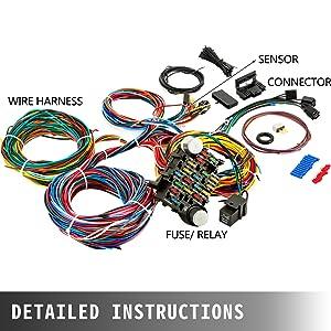 street rod wiring harness