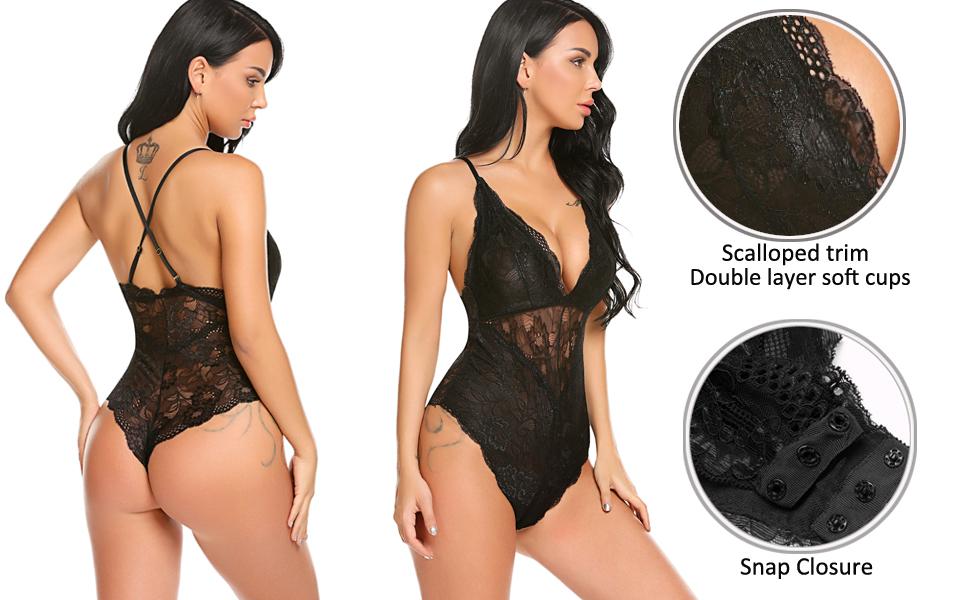 lace bodysuit lingerie