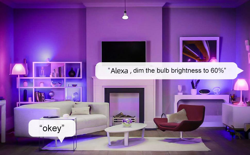 smart light bulb works with alexa smart bulbs alexa led light bulbs google home smart lights