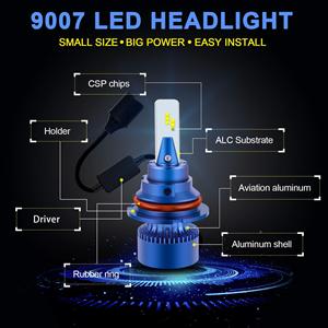 9007 led light