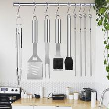 bbq utensil kit  bbq accessories bbq tools set grilling accessories barbecue kit set Xmas Gift