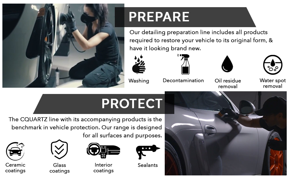 Our prepare products include for washing, oil removal and more