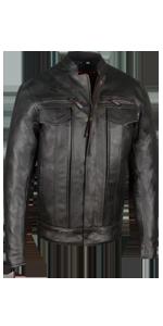 Leather Jacket Cruiser Travel