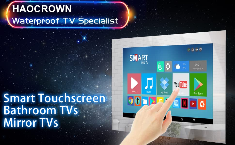 Haocrown waterproof TV specialist