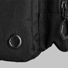 Two air ventilation holes to keep your gear smell fresh & clean