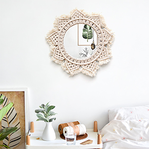 Hanging Wall Mirror D