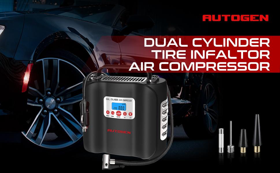 car compressor dual cylinder