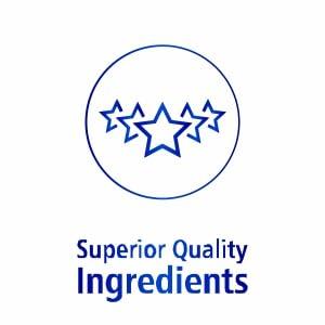 Superior Quality Ingredients