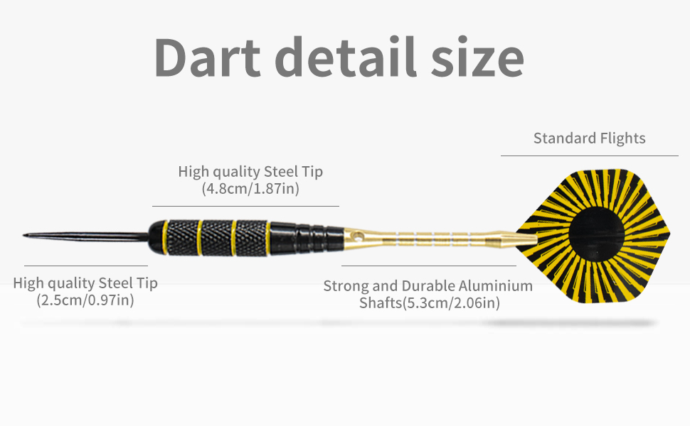 darts metal tip set