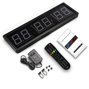 remote user manual guide adapter wall clock timer