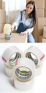 packing tape mailing shipping post office securing boxes safety warehouse industrial package
