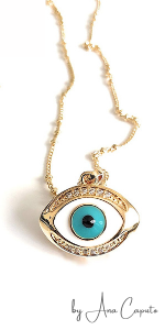 Evil Eye Necklaces for Women Protection Pendant