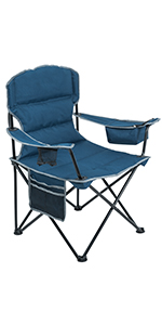 quad mesh chair heavy duty outdoor camping chair lightweight collapsible travel chair heavy people