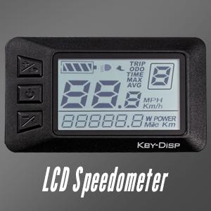 LCD Speedometer
