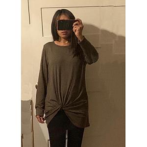 yoga shirt sweater for women long sleeve tops for women yoga clothes cowl neck tops for women