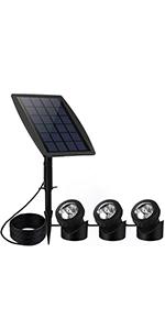 Solar Pond light