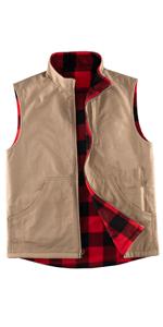 Men's Reversible Casual Vest