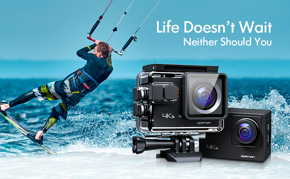 waterproof action camera sport camera for diving
