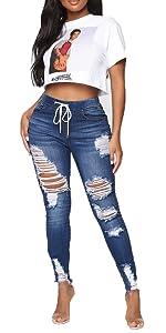 mid waist jegging jeans denim pants
