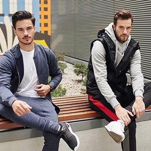 Patch Casual BOLF Pantaloni da Uomo Mix 6F6 Sportivi