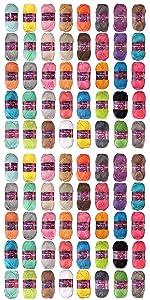 Bullk order whole sale discount amigurumi select craft acrylic yarn skeins