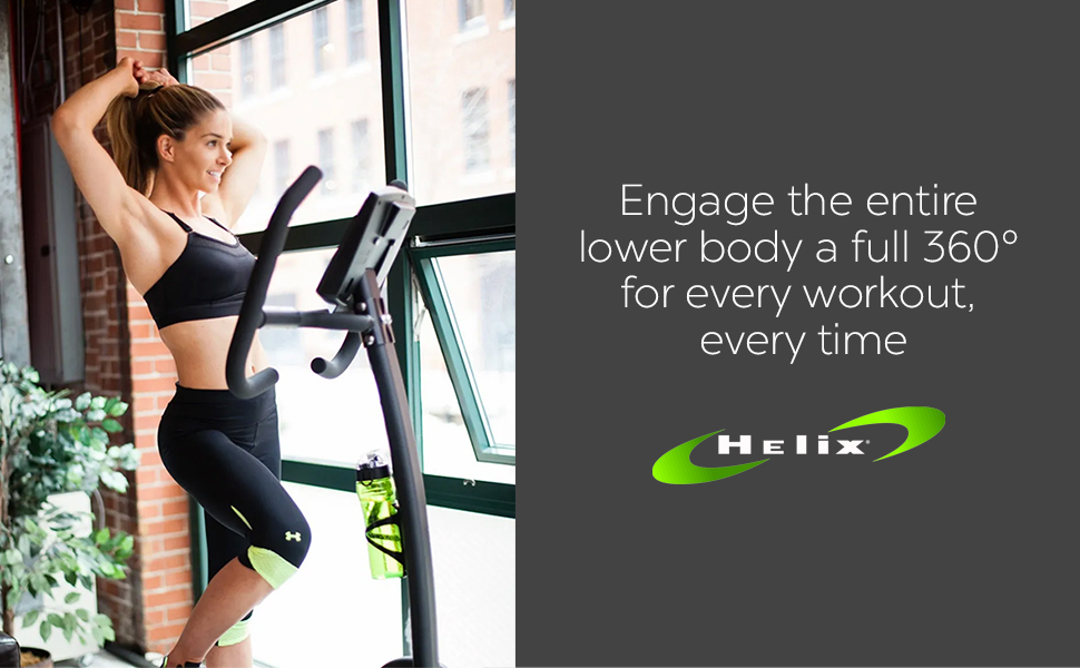 Engage the entire lower body a full 360 degrees for every workout every time