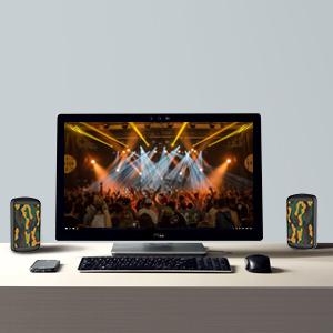 INHANDA bluetooth speaker with TWS function