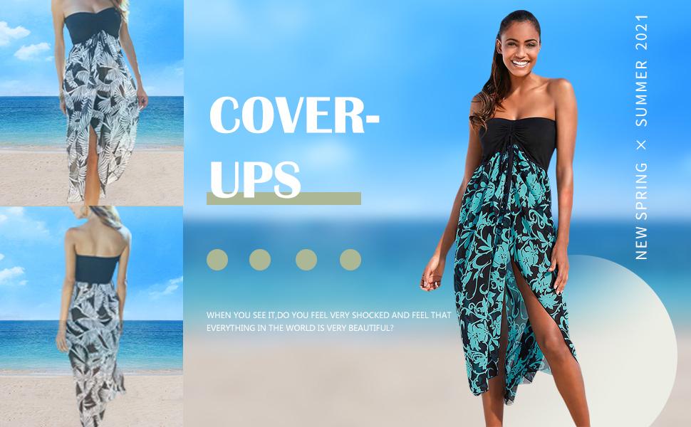 beach cover ups for women