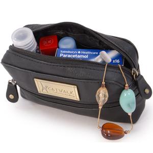Savannah, leather pouch, accessories, case