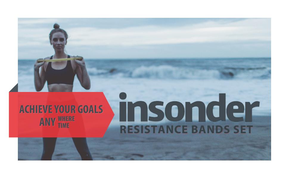 insonder Resistance Bands Set | Header