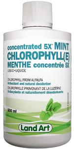 Liquid Chlorophyll body odor