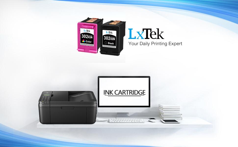 LxTek Remanufacturado para HP 302 XL 302XL Cartuchos de Tinta para ...