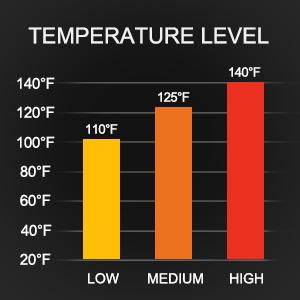 3 Temperature levels
