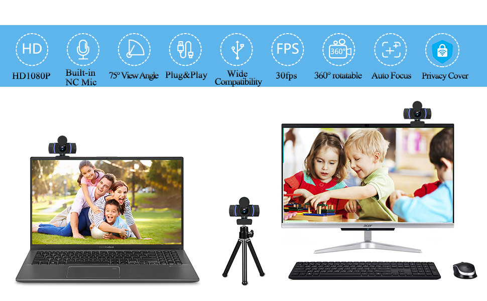 1080P HD USB WEBCAM