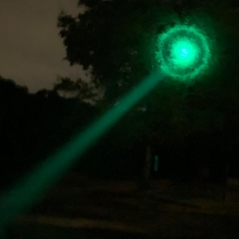 green light flashlight