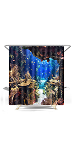 fishing sport seascape underwater world coral reef undersea fish theme shark dolphin man cave house