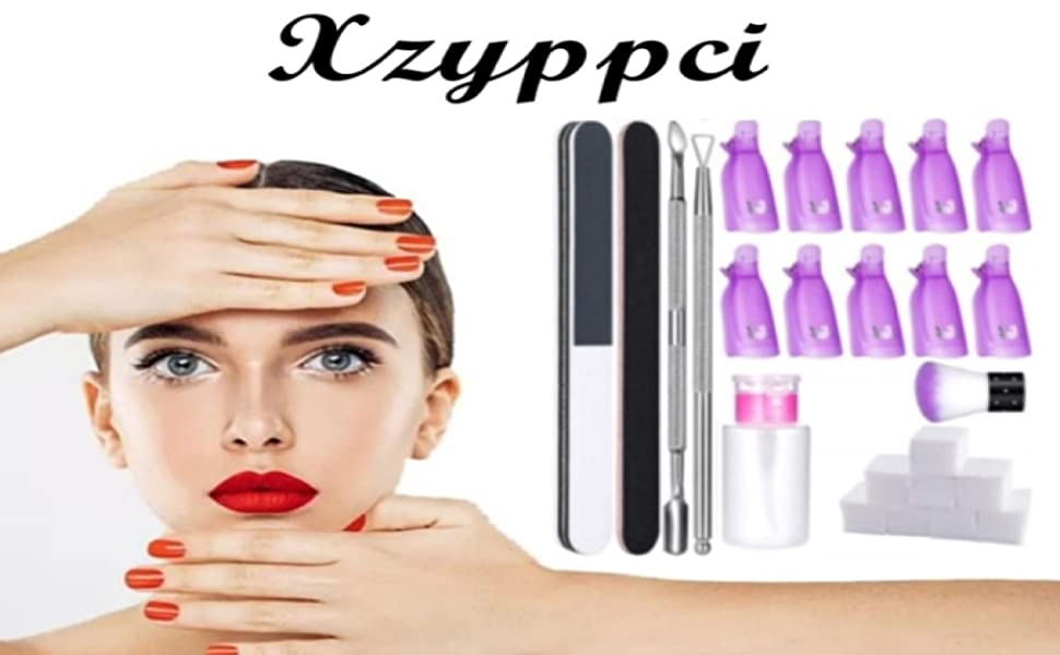 Gel Nail Polish Remover Kit