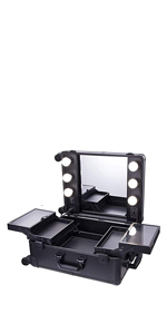 makeup case with lights