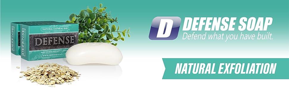 Defense Soap Natural Ingredients Eucalyptus Tea Tree Shower Bath Oil Oatmeal MMA Boxing Wrestling