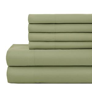 Green Vilano Springs Extra Deep Pocket Sheet Set Pillowcases