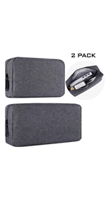 2-PACK Accessories Bag