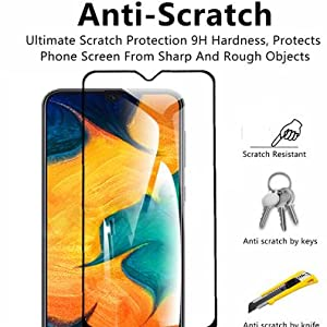 m30S Tempered Glass