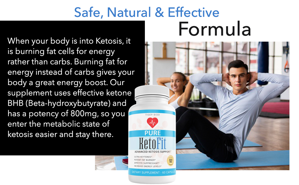 safe natural and effective keto pills supplement