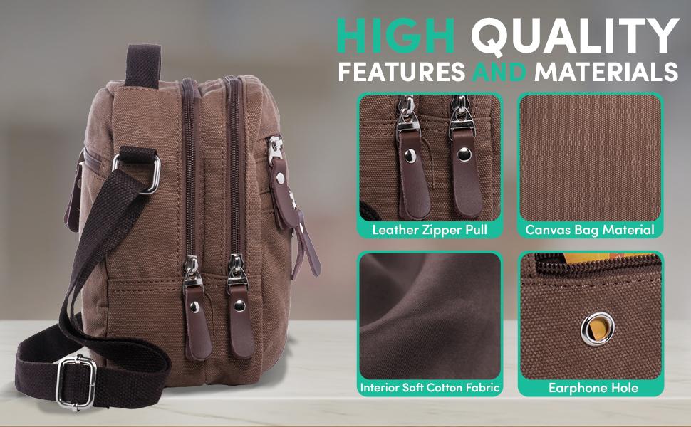 Leinwand Riemen Schultertasche Kuriertasche Handtasche Ersatz Verstellbar Massiv