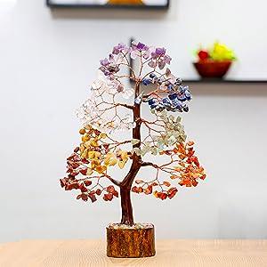 amethyst gemstone stone crystal money tree feng shui bonsai reiki healing
