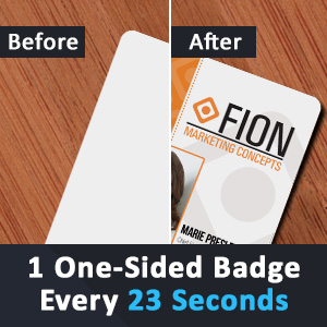 id card pros id badge maker fast speed